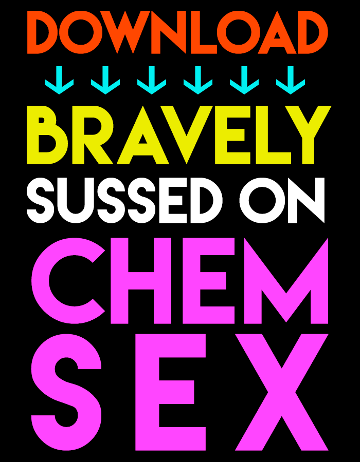 download bravely sussed on chemsex